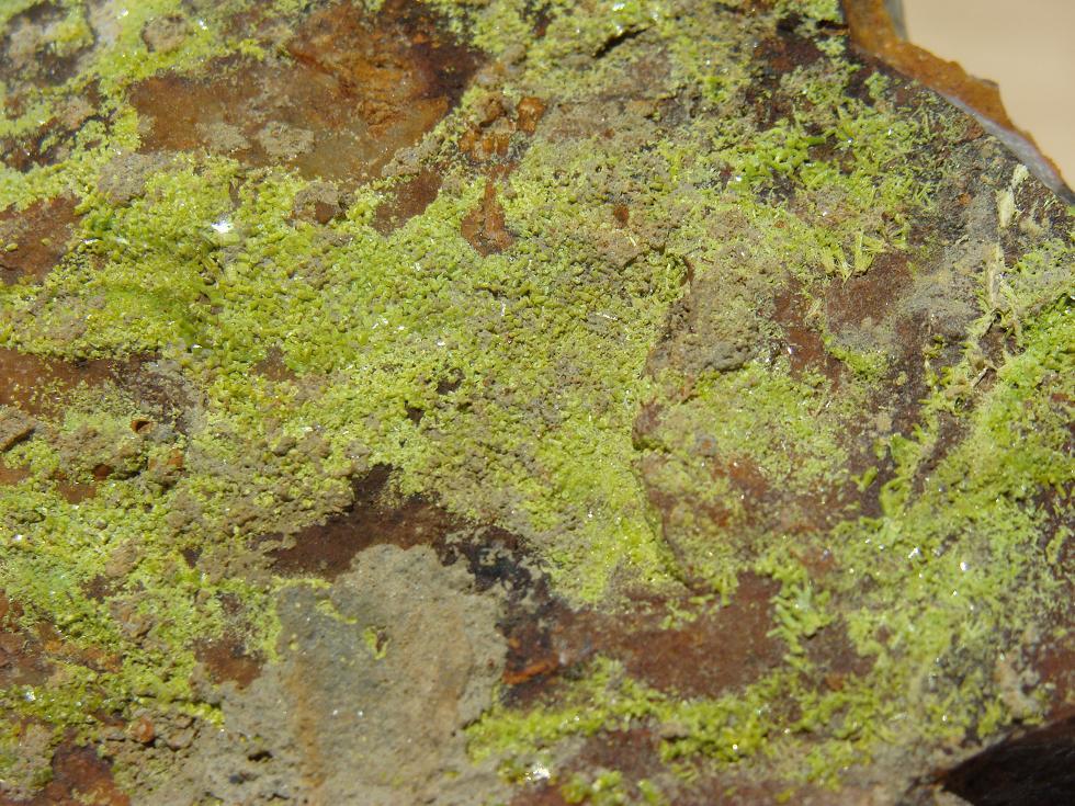 Pyromorphite de Longvilly et mine de plomb DSC03504